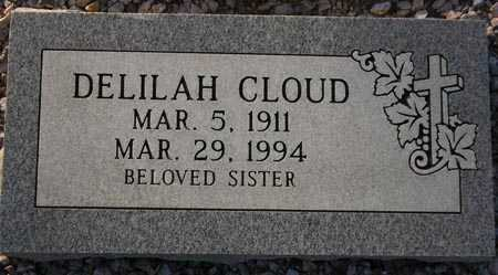 CLOUD, DELILAH - Maricopa County, Arizona | DELILAH CLOUD - Arizona Gravestone Photos