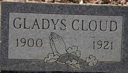 CLOUD, GLADYS - Maricopa County, Arizona | GLADYS CLOUD - Arizona Gravestone Photos