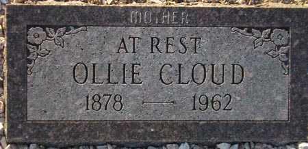 CLOUD, OLLIE - Maricopa County, Arizona | OLLIE CLOUD - Arizona Gravestone Photos