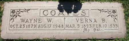 COATES, VERNA B - Maricopa County, Arizona | VERNA B COATES - Arizona Gravestone Photos