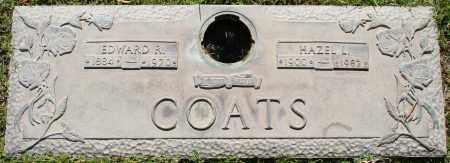 COATS, EDWARD R - Maricopa County, Arizona | EDWARD R COATS - Arizona Gravestone Photos