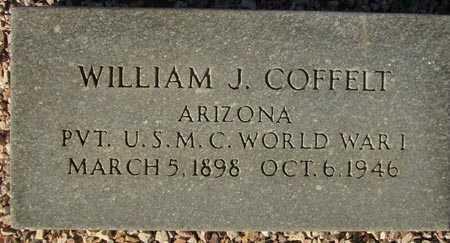 COFFELT, WILLIAM J. - Maricopa County, Arizona | WILLIAM J. COFFELT - Arizona Gravestone Photos