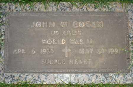 COGAN, JOHN W. - Maricopa County, Arizona | JOHN W. COGAN - Arizona Gravestone Photos