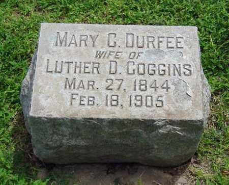 DURFEE COGGINS, MARY C. - Maricopa County, Arizona | MARY C. DURFEE COGGINS - Arizona Gravestone Photos