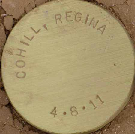 COHILL, REGINA - Maricopa County, Arizona | REGINA COHILL - Arizona Gravestone Photos