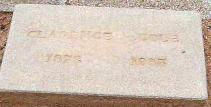 COLE, CLARENCE - Maricopa County, Arizona | CLARENCE COLE - Arizona Gravestone Photos