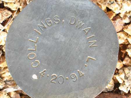 COLLINGS, DWAIN  L. - Maricopa County, Arizona   DWAIN  L. COLLINGS - Arizona Gravestone Photos