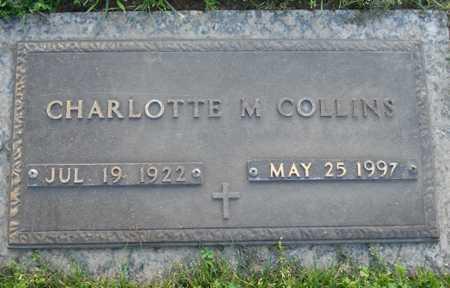 COLLINS, CHARLOTTE M - Maricopa County, Arizona   CHARLOTTE M COLLINS - Arizona Gravestone Photos