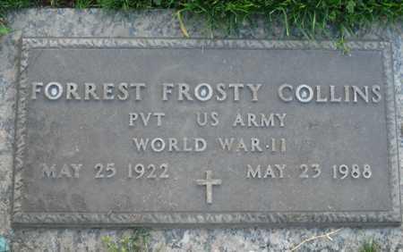 COLLINS, FORREST FROSTY - Maricopa County, Arizona   FORREST FROSTY COLLINS - Arizona Gravestone Photos