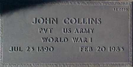 COLLINS, JOHN - Maricopa County, Arizona | JOHN COLLINS - Arizona Gravestone Photos