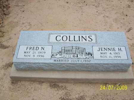 HUBER COLLINS, JENNIE - Maricopa County, Arizona | JENNIE HUBER COLLINS - Arizona Gravestone Photos