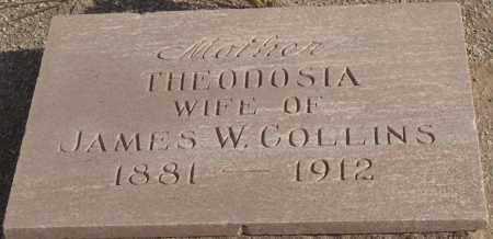COLLINS, THEODOSIA - Maricopa County, Arizona | THEODOSIA COLLINS - Arizona Gravestone Photos