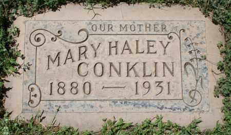 CONKLIN, MARY HALEY - Maricopa County, Arizona   MARY HALEY CONKLIN - Arizona Gravestone Photos