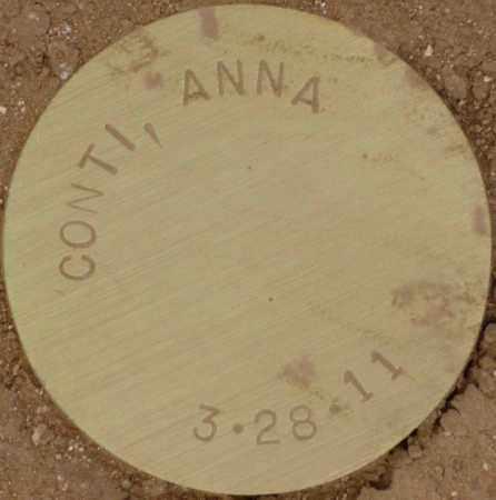 CONTI, ANNA - Maricopa County, Arizona | ANNA CONTI - Arizona Gravestone Photos