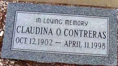 CONTRERAS, CLAUDINA O. - Maricopa County, Arizona   CLAUDINA O. CONTRERAS - Arizona Gravestone Photos