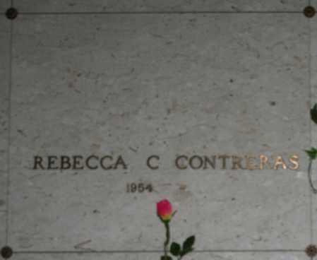 CONTRERAS, REBECCA C. - Maricopa County, Arizona   REBECCA C. CONTRERAS - Arizona Gravestone Photos
