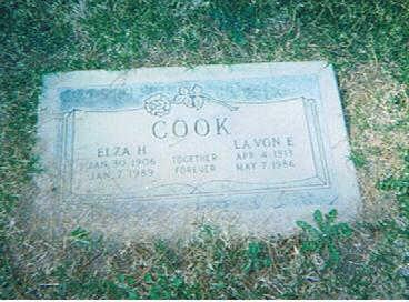 HARRIS COOK, LAVON - Maricopa County, Arizona | LAVON HARRIS COOK - Arizona Gravestone Photos