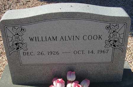 COOK, WILLIAM ALVIN - Maricopa County, Arizona | WILLIAM ALVIN COOK - Arizona Gravestone Photos