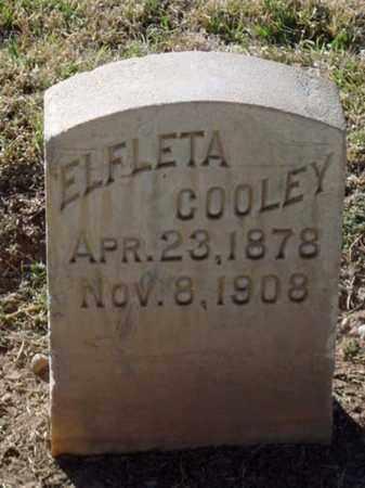 COOLEY, ELFLETA - Maricopa County, Arizona | ELFLETA COOLEY - Arizona Gravestone Photos