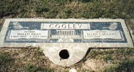 MCLAWS COOLEY, ELLEN S - Maricopa County, Arizona | ELLEN S MCLAWS COOLEY - Arizona Gravestone Photos