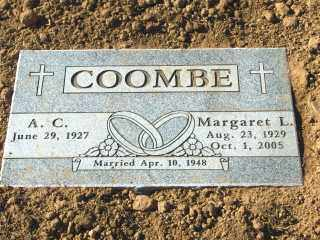 COOMBE, MARGARET - Maricopa County, Arizona | MARGARET COOMBE - Arizona Gravestone Photos