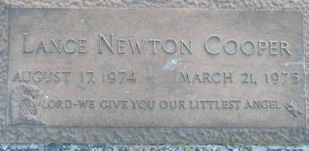 COOPER, LANCE NEWTON - Maricopa County, Arizona | LANCE NEWTON COOPER - Arizona Gravestone Photos