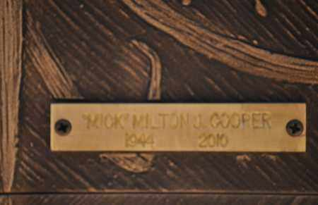 COOPER, MILTON J. (MICK) - Maricopa County, Arizona   MILTON J. (MICK) COOPER - Arizona Gravestone Photos