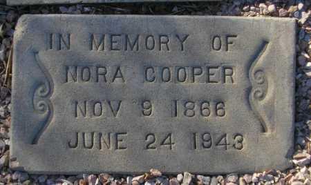 COOPER, NORA - Maricopa County, Arizona | NORA COOPER - Arizona Gravestone Photos