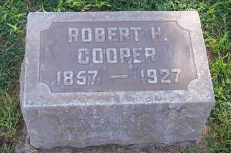 COOPER, ROBERT H. - Maricopa County, Arizona | ROBERT H. COOPER - Arizona Gravestone Photos