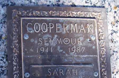 COOPERMAN, SEYMOUR - Maricopa County, Arizona | SEYMOUR COOPERMAN - Arizona Gravestone Photos