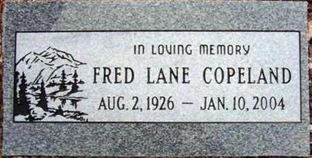 COPELAND, FRED LANE - Maricopa County, Arizona | FRED LANE COPELAND - Arizona Gravestone Photos