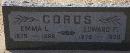 CORDS, EMMA L. - Maricopa County, Arizona | EMMA L. CORDS - Arizona Gravestone Photos