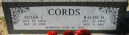CORDS, RALPH H. - Maricopa County, Arizona | RALPH H. CORDS - Arizona Gravestone Photos