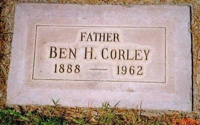CORLEY, BEN - Maricopa County, Arizona | BEN CORLEY - Arizona Gravestone Photos