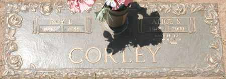 CORLEY, ALICE S. - Maricopa County, Arizona | ALICE S. CORLEY - Arizona Gravestone Photos