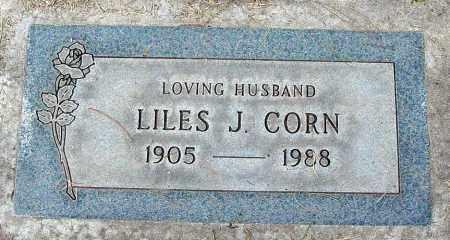 CORN, LILES J. - Maricopa County, Arizona   LILES J. CORN - Arizona Gravestone Photos