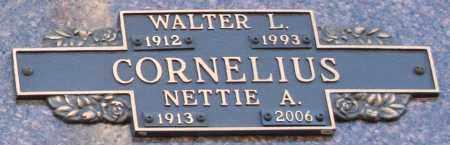 CORNELIUS, NETTIE A - Maricopa County, Arizona | NETTIE A CORNELIUS - Arizona Gravestone Photos