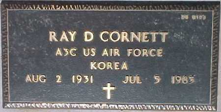 CORNETT, RAY D. - Maricopa County, Arizona | RAY D. CORNETT - Arizona Gravestone Photos