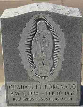 CORONADO, GUADALUPE - Maricopa County, Arizona | GUADALUPE CORONADO - Arizona Gravestone Photos