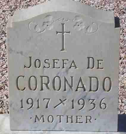 CORONADO, JOSEFA - Maricopa County, Arizona | JOSEFA CORONADO - Arizona Gravestone Photos