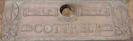 COTTRELL, PAUL E., SR. - Maricopa County, Arizona | PAUL E., SR. COTTRELL - Arizona Gravestone Photos