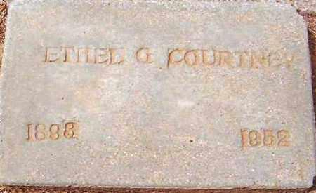 COURTNEY, ETHEL G. - Maricopa County, Arizona | ETHEL G. COURTNEY - Arizona Gravestone Photos