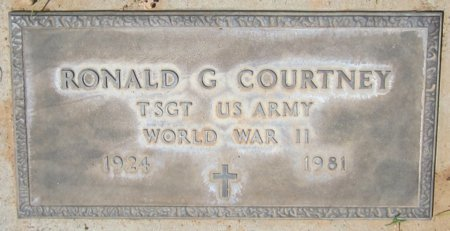 COURTNEY, RONALD G. - Maricopa County, Arizona | RONALD G. COURTNEY - Arizona Gravestone Photos