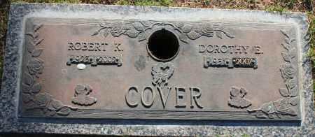 COVER, ROBERT K - Maricopa County, Arizona   ROBERT K COVER - Arizona Gravestone Photos