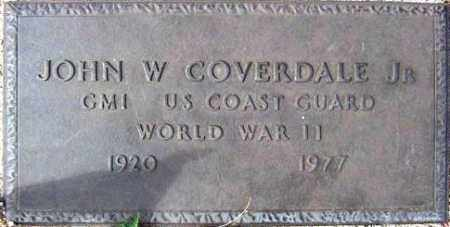COVERDALE, JOHN W, JR - Maricopa County, Arizona | JOHN W, JR COVERDALE - Arizona Gravestone Photos