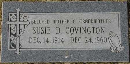 COVINGTON, SUSIE D. - Maricopa County, Arizona | SUSIE D. COVINGTON - Arizona Gravestone Photos