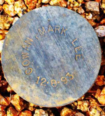 COWAN, MARK LEE - Maricopa County, Arizona | MARK LEE COWAN - Arizona Gravestone Photos