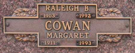 COWAN, RALEIGH B - Maricopa County, Arizona | RALEIGH B COWAN - Arizona Gravestone Photos