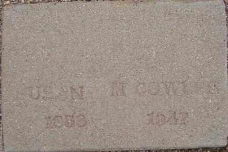 WYATT COWLES, SUSAN M. - Maricopa County, Arizona | SUSAN M. WYATT COWLES - Arizona Gravestone Photos