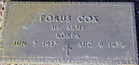 COX, FORUS - Maricopa County, Arizona | FORUS COX - Arizona Gravestone Photos